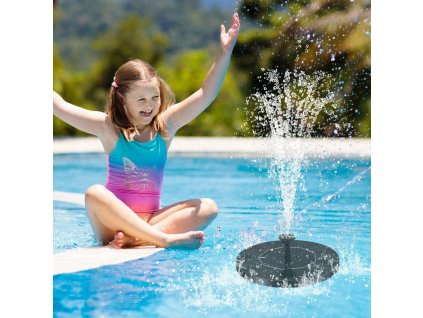 plavajuca solarna fontana do jazierka