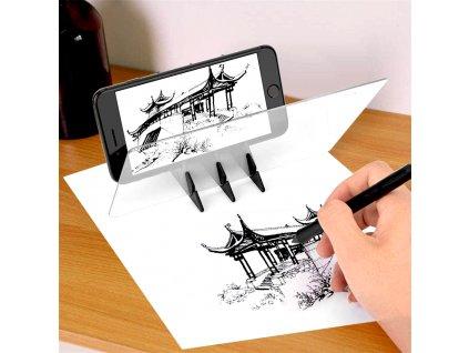 projektor na obkreslovanie z mobilu a tabletu