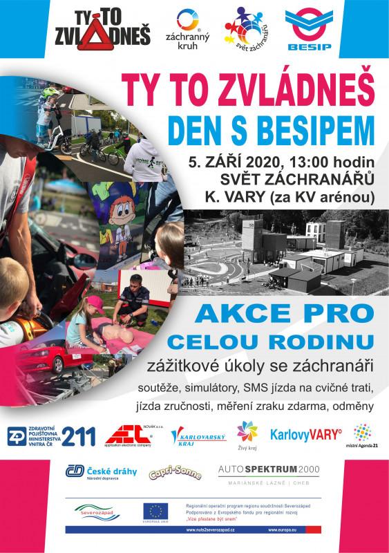 Ty to zvládneš - Den s Besipem 05.09-2020