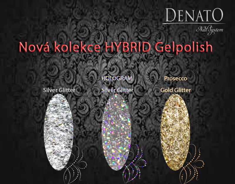 HYBRID Gelpolish glitter