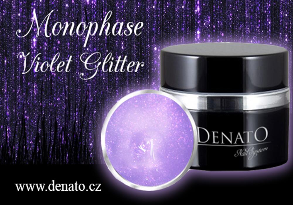 Monophase Violet Glitter