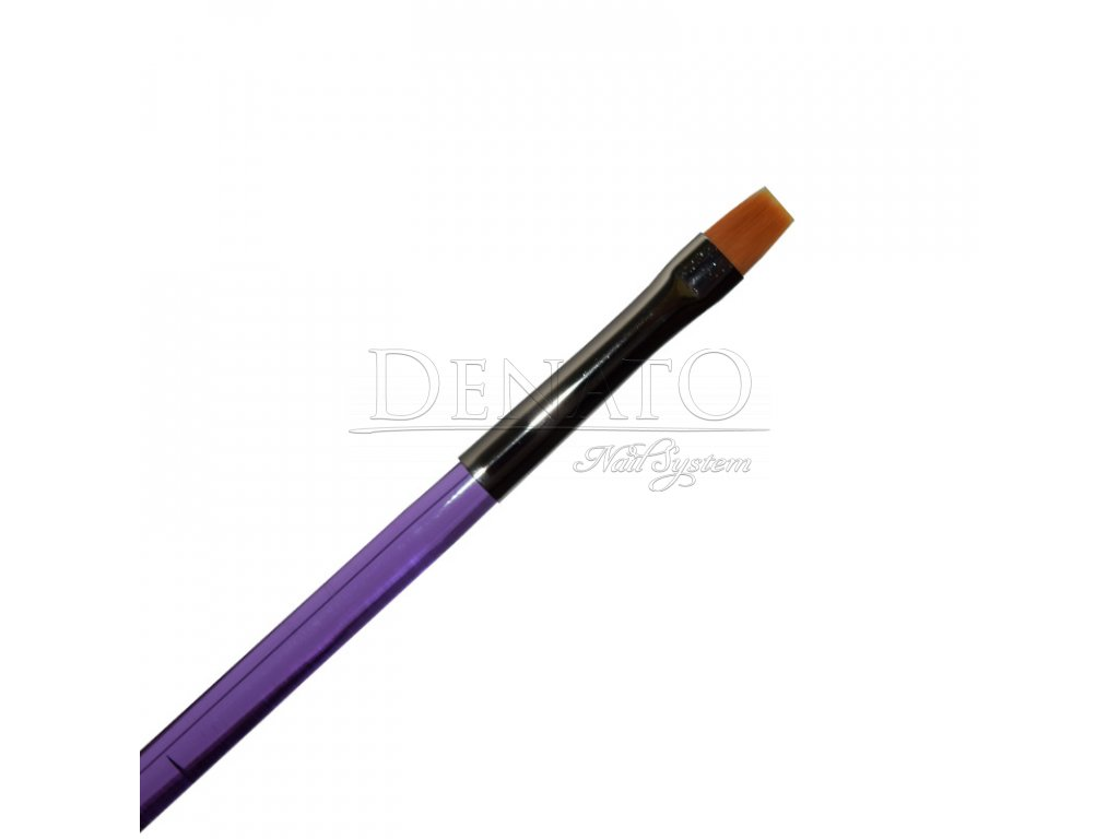 5966 štětec one stroke rovný nail art velikost 2 syntetický