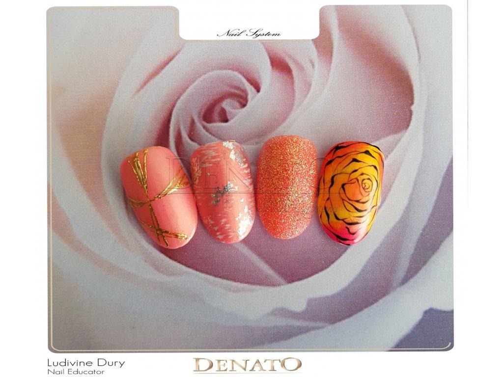 2527 Flop Tutti Frutti barevný efektový uv led gel