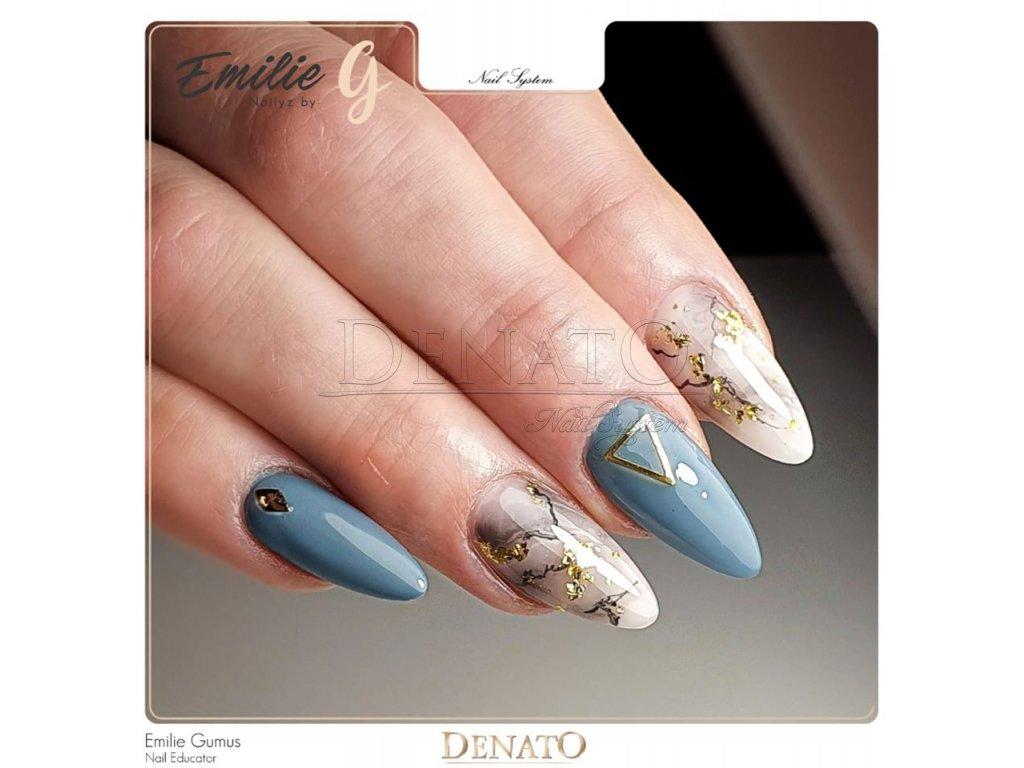 2087 Dark Cyan barevný uv led gel zelený