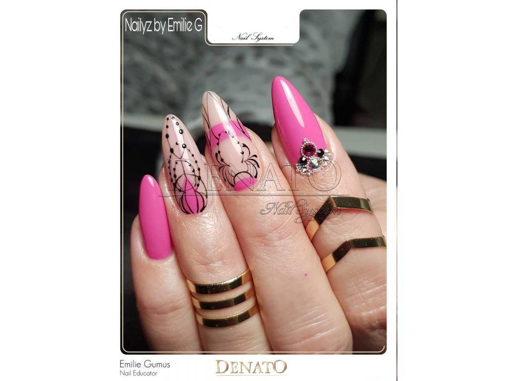 PF09 Perfect Line 09 barevný uv led gel bezvýpotkový růžový
