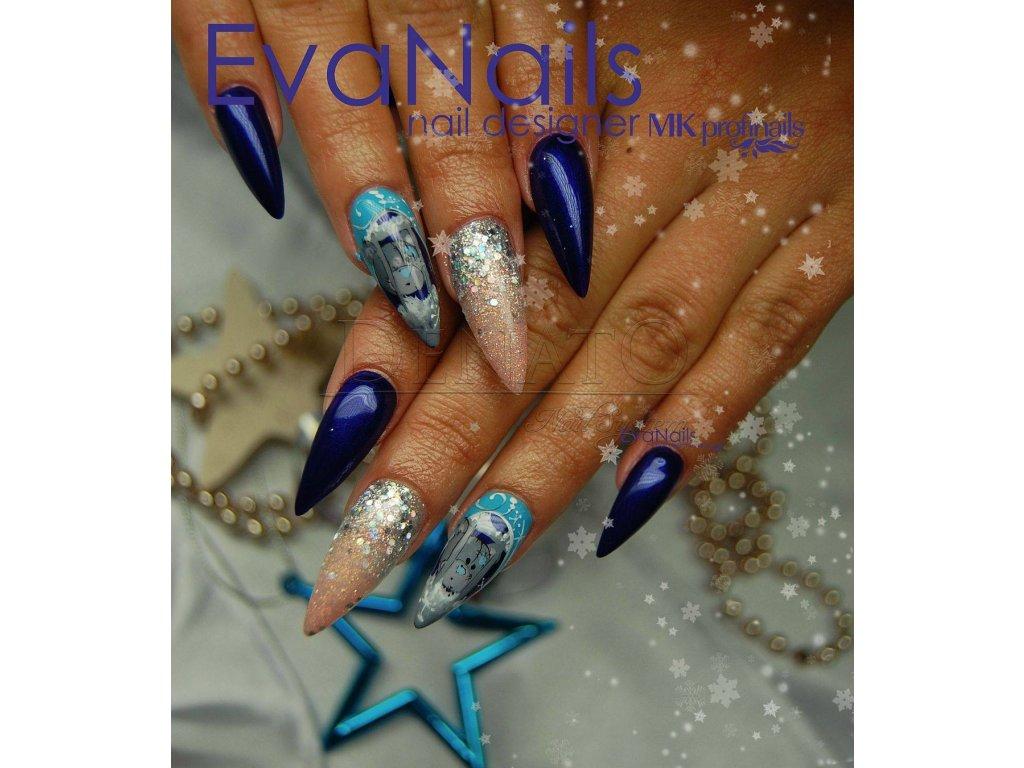 PF17 Perfect Line 17 barevný uv led gel bezvýpotkový modrýjpg