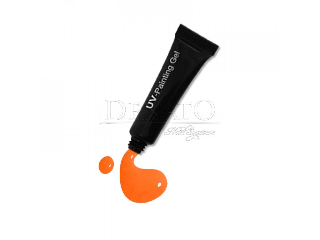 3516 Neon Orange painting gel