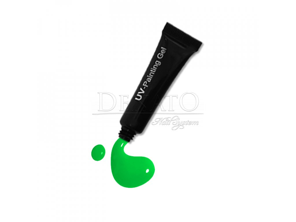 3523 Neon Green painting gel