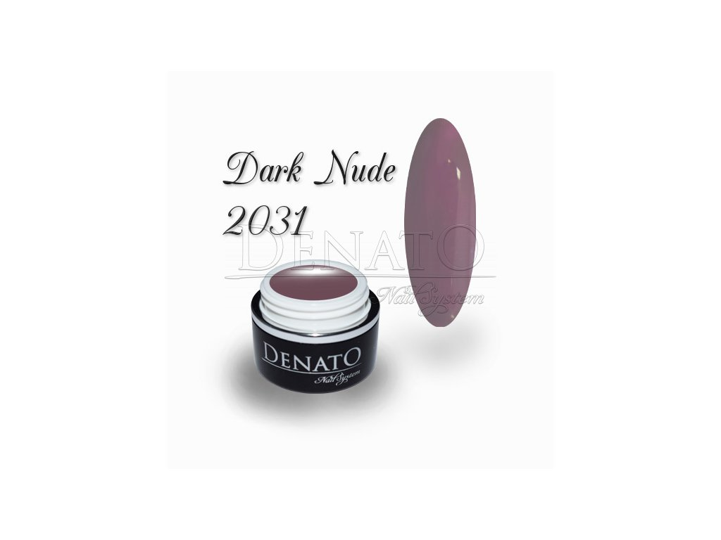 2031 dark nude barevný uv led gel nude