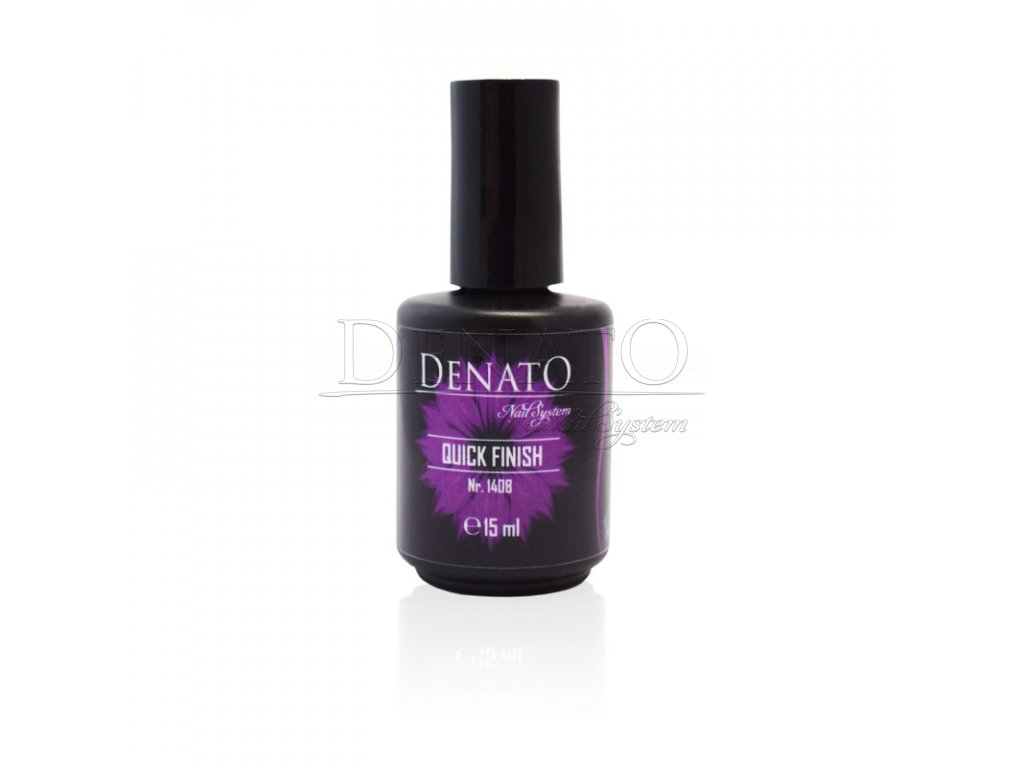 Quick Finish UV LED gel bezvýpotkový vrchní lesk, 15 ml