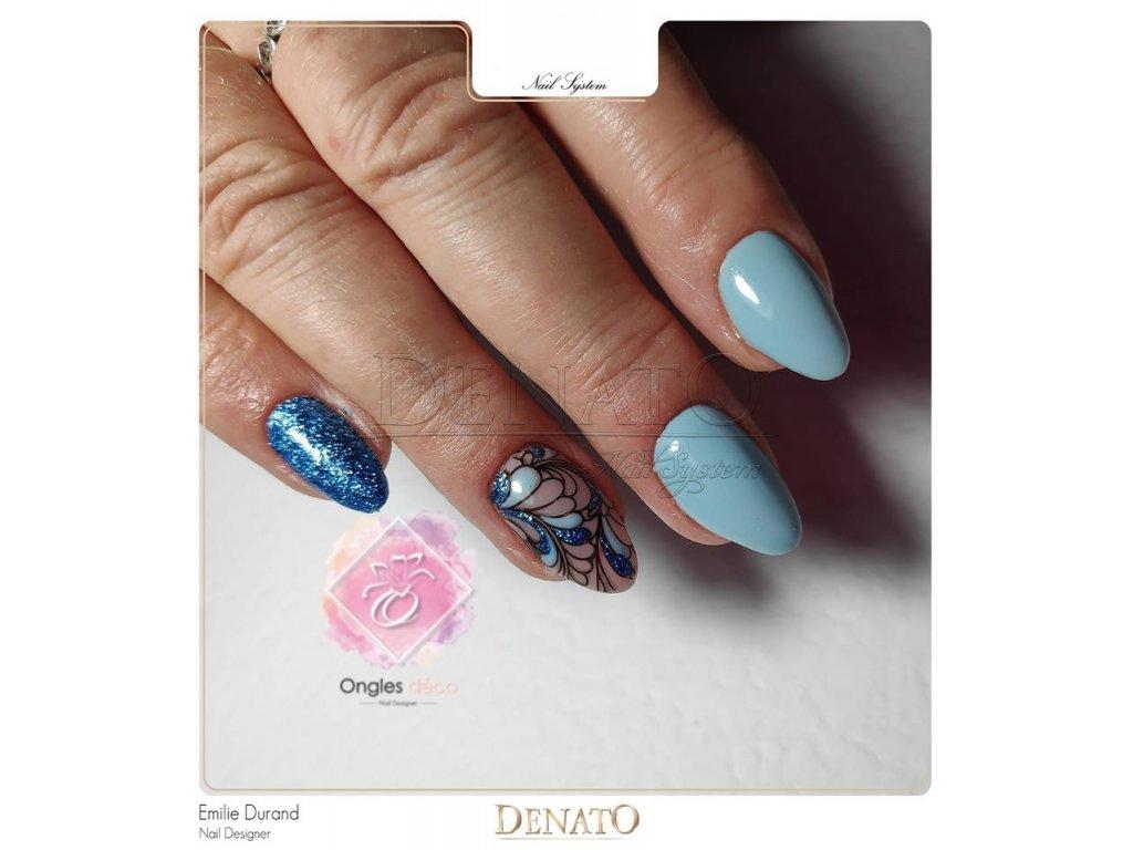 2055 Airy Blue barevný uv led gel modrý