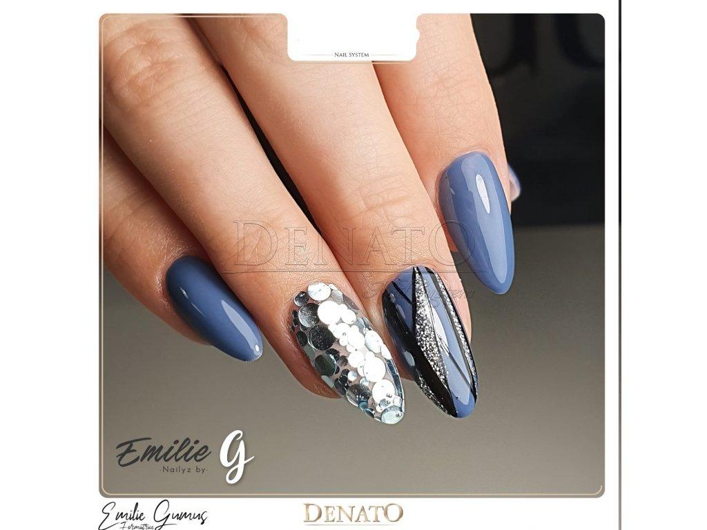 2056 Poseidon barevný uv led gel modrý