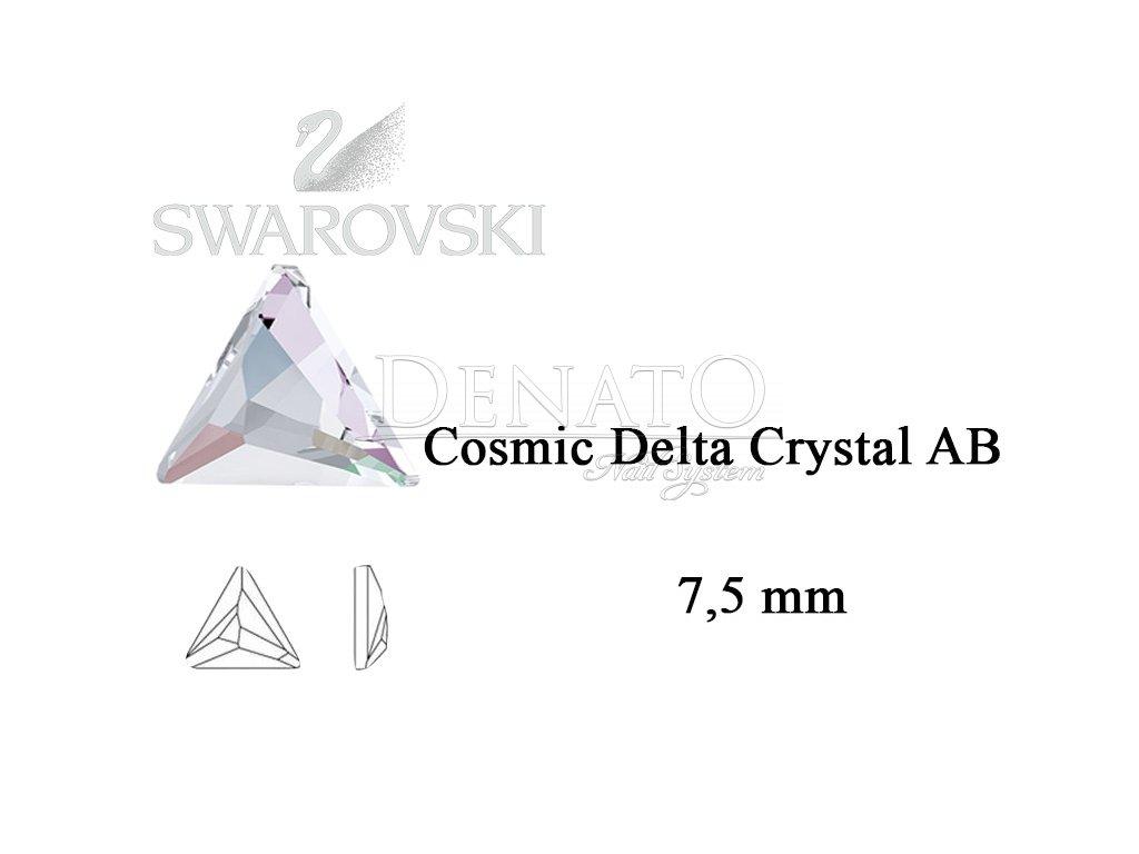 cosmic delta swarovski crystal AB