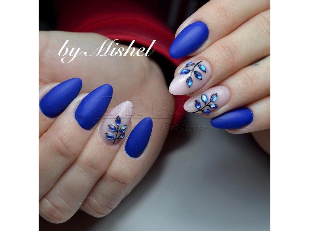 23015 Basic 15 barevný uv led gel tmavě modrá