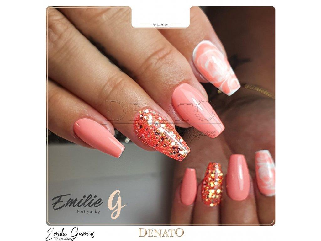 23029 Basic 29 barevný uv led gel lososový jpg