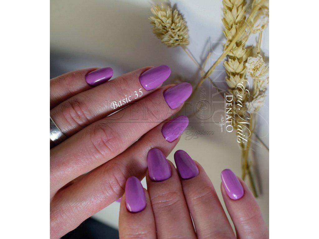 23035 Basic 35 barevný uv led gel fialovo růžový jpg