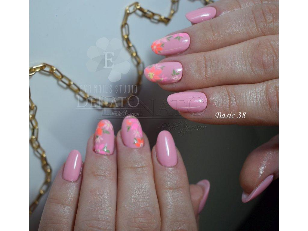 23038 Basic 38 barevný uv led gel lososový jpg