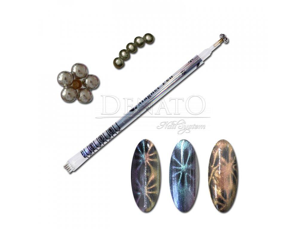 Magnetická tužka stříbrná