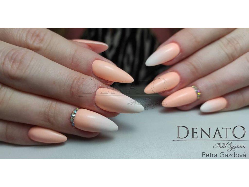 2152 Pastel Orange, barevný UV LED gel pastelová oranžová