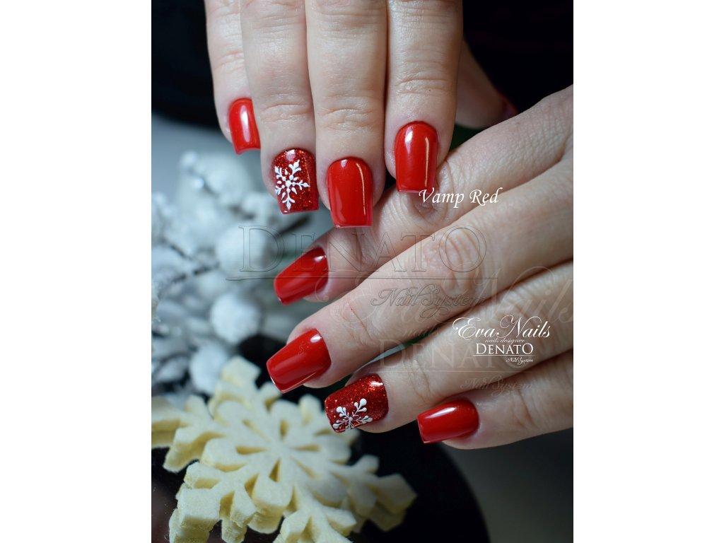 2065 Vamp Red barevný uv led gel červený