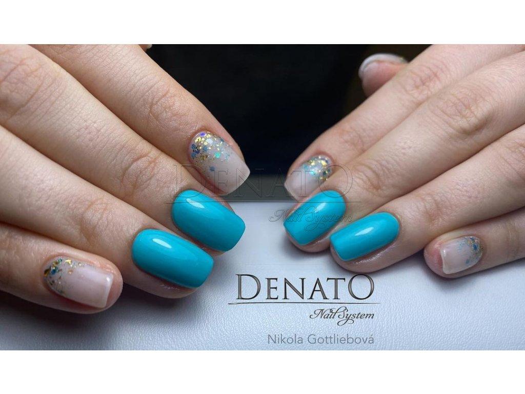 PF30 Perfect Line 30 barevný uv led gel bezvýpotkový modro zelenýjpg