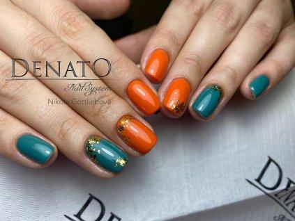 2086 Dark Khaki barevný uv led gel zelený