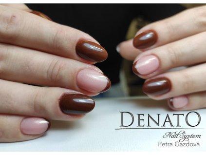 2094 Chocolate barevný uv led gel hnědý