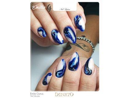 PF12 Perfect Line 12 barevný uv led gel bezvýpotkový modrý