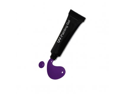 3508 Violet painting gel