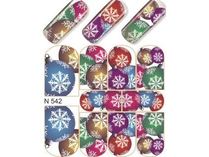8678 - 30  Vodolepky NailArt