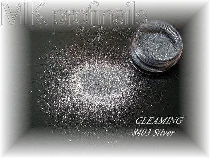 GLEAMING Silver  Třpytky a Glitry