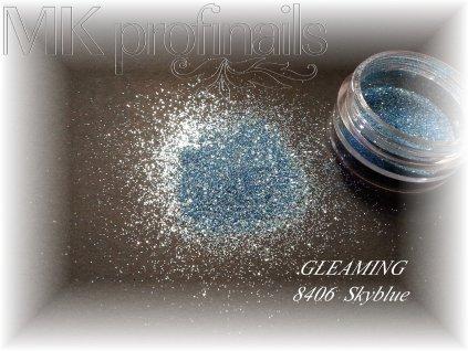 GLEAMING Skyblue  Třpytky a Glitry