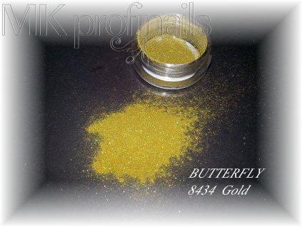 BUTTERFLY Gold  Třpytky a Glitry