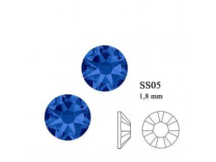9217 Swarovski Capri blue SS05