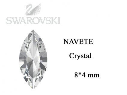 9301 Swarovski Navette crysta