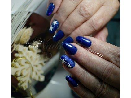 2054 Greek Blue barevný uv led gel modrý