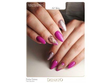 2048 Christy barevný uv led gel fialový