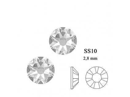 9290 Swarovski Crystal SS10