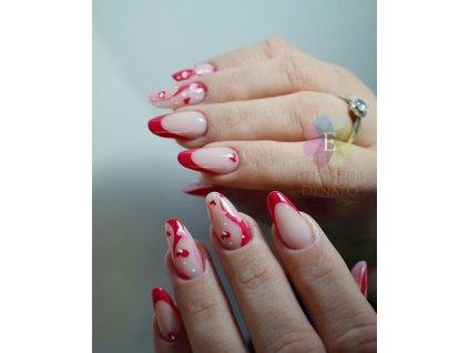 2018 Mandy barevný uv led gel růžový