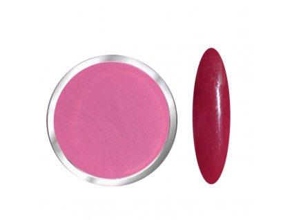 1718 Dusty Rosa barevný polymer červený