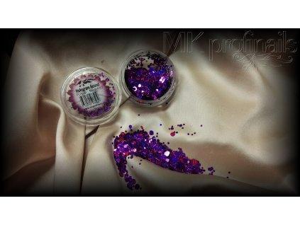 Purple  Třpytky a Glitry