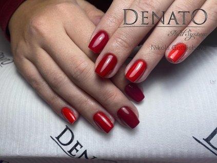 23026 Basic 26 barevný uv led gel červený jpg