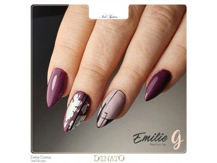 PF21 Perfect Line 21 barevný uv led gel bezvýpotkový černý