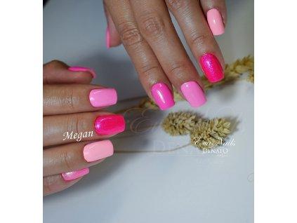 5309 Megan barevný uv led gel růžový