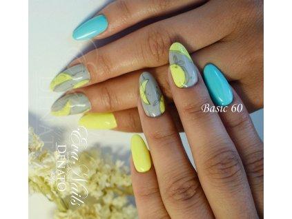23060 Basic 60 barevný uv led gel tyrkysová modrá a