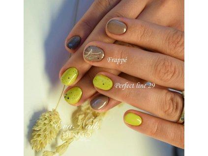 PF28 Perfect Line 28 barevný uv led gel bezvýpotkový khaki zelený