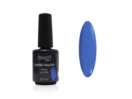 5799 Hybrid Gelpolish Malibu modrý uv led gel, 15 ml