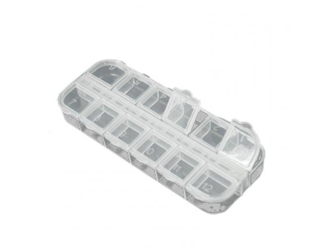 Nail Art box plastový
