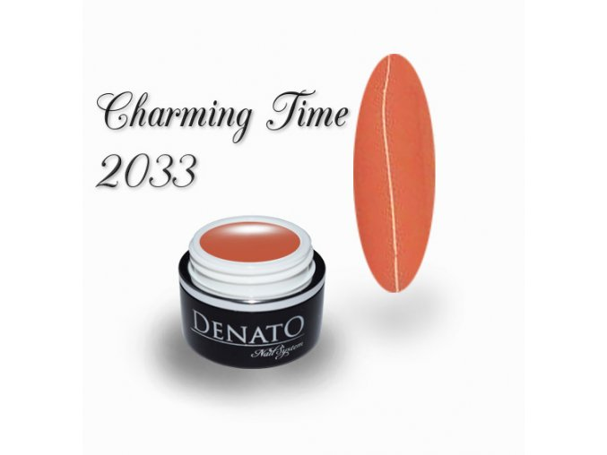 2033 charming time barevný uv led gel teracotta