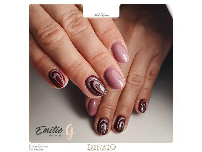 4002 Silver Fine, glitrový barevný uv gel stříbrný